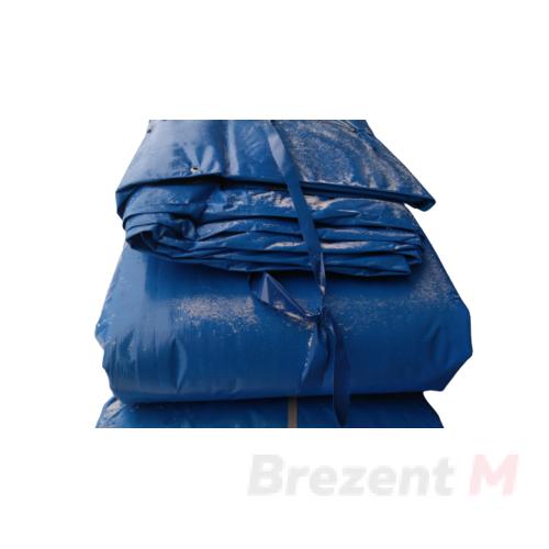 Утепленный тент тарпаулин 180 гр/м2 6 х 10 м с люверсами