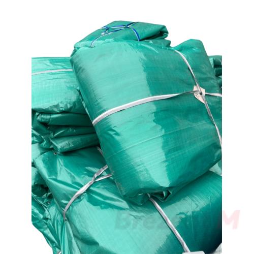 Утепленный тент тарпаулин 120 гр/м2 6 х 8 м с люверсами