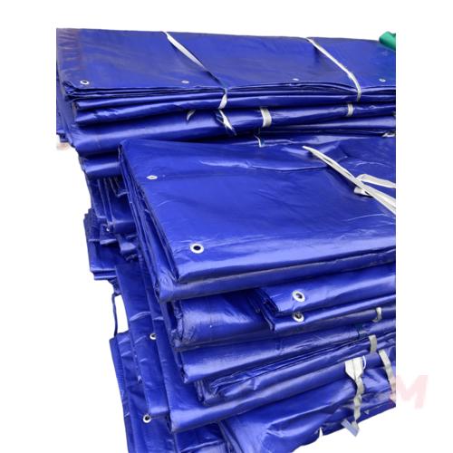 Тент ПВХ утепленный 650 гр/м2 3 х 5 м с люверсами